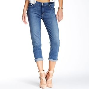 NWOT Mother The Dropout Boyfriend Skinny Jeans